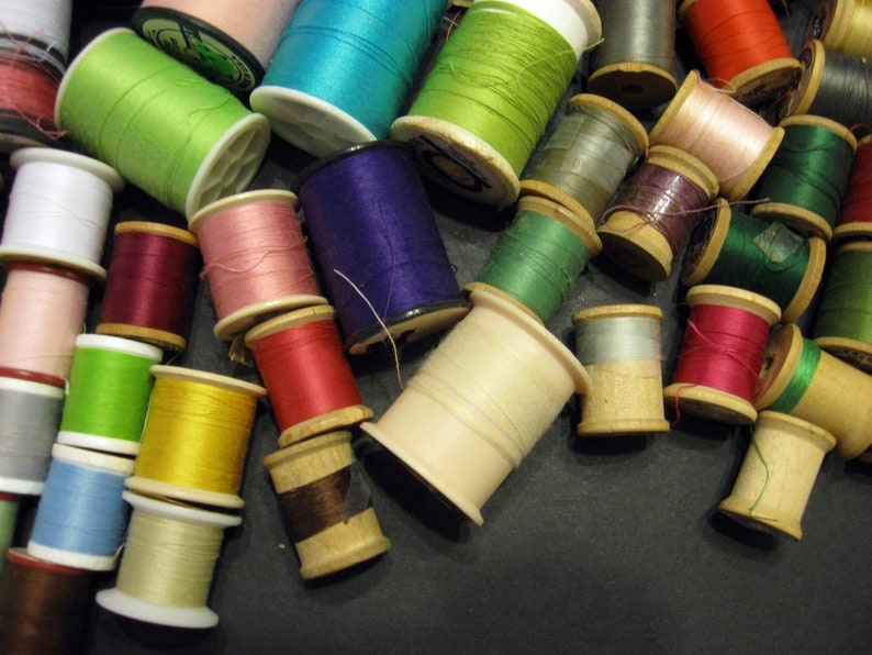 Assortment of Sewing Threads 81 Spools