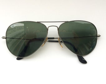 31e23220383 Vintage Ray Ban Aviator Sunglasses