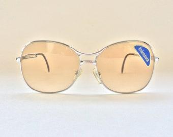 eb9debcb42 Rare Old School Style 80s Rodenstock Silver Metal NOS Sunglasses
