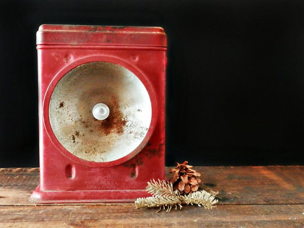 Antique Hand Lantern Redbird Electric Lantern Delta