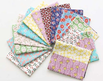 Lovely Florals on Cotton, U229