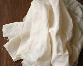 3 yards of Cream Soft Double Gauze 150cm WIDE, U2763
