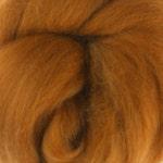 18 Micron Wool Roving - 50 grams (1.75 oz) - Cinnamon