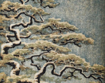 Limited Edition Woodblock Print Tree No. 30 Moku Hanga Fine Art Print