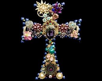 Celtic Cross Decor, Cross Vintage Jewelry Art, Cross Gift, Jewelry Cross, Celtic Cross Art, Moira Cross