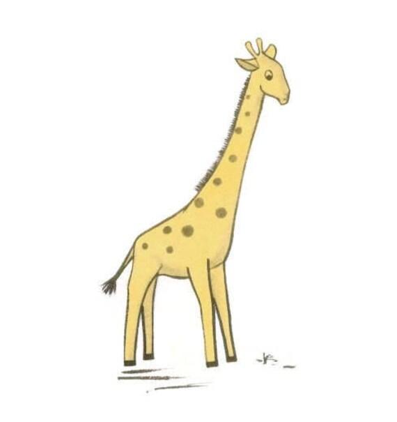 Vintage Stofftier Giraffe Schnittmuster 50er Jahre Spielzeug | Etsy