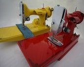 Painted Singer Featherweight 221 Machine