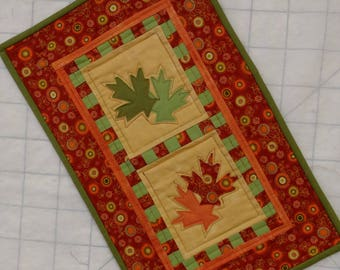 Falling Leaves Wallhanging