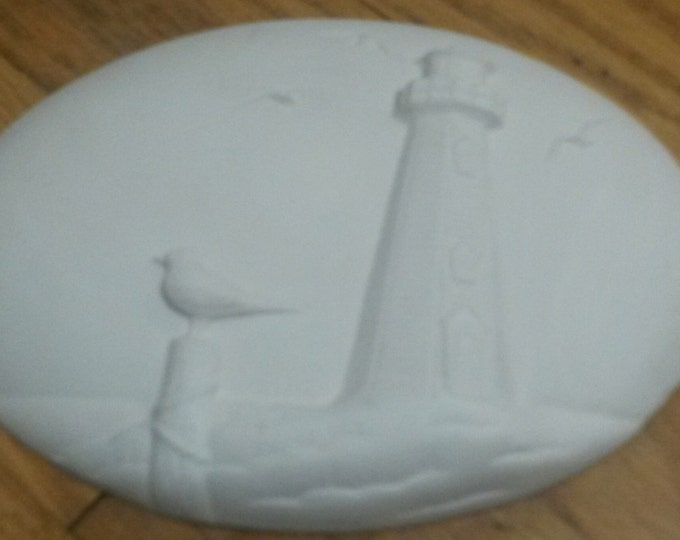 Ready to Paint Lighthouse Insert