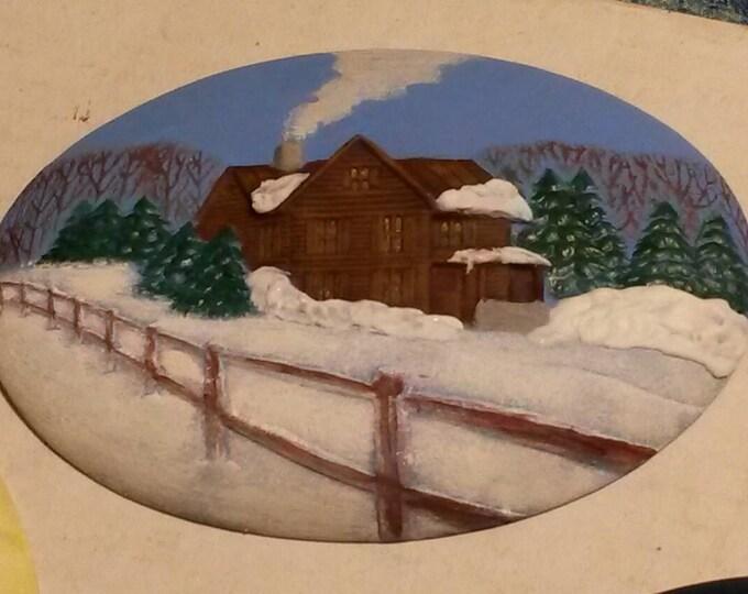Winter Scene Insert