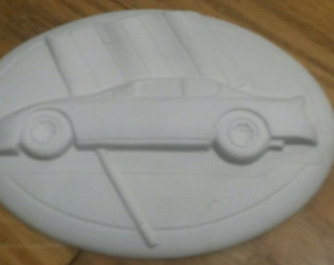 Ready to Paint Race Car Insert