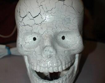 Halloween Skull - Ceramic