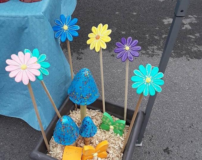 Garden Mushroom Set - Blueberry Bubblegum