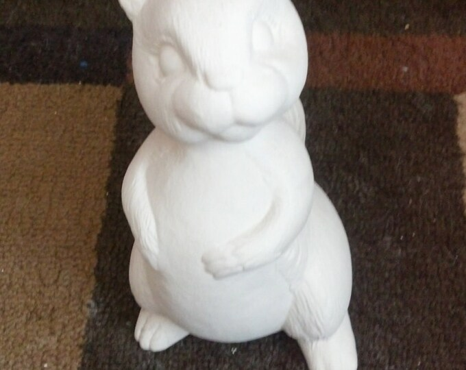 Ready to paint Standing Squirrel