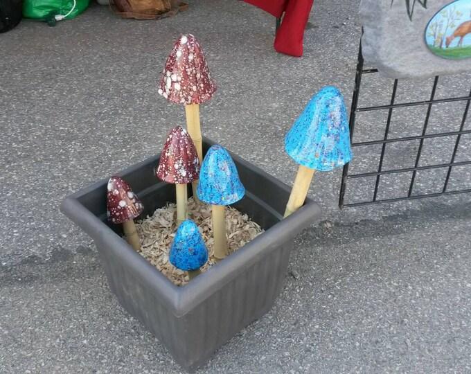 Garden Mushroom Set