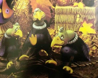 Buzzards - Set of 3