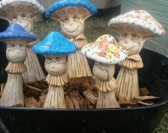 Mushroom People -Set of 2