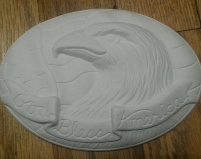 Ready to Paint Patriotic Eagle Insert