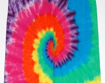 TIE DYE Kids Leggings Neon Spiral sizes 6m 12m 18m 2T 4T 6 8 10 12 Psychedelic Tye Dye long johns Grateful Dead hippe gypsy