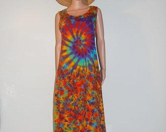 1afbae799b79 TIE DYE Dress Rainbow Spiral Blotter Psychedelic Tye Dye Women s Tank Top  Dress hippie gypsy sm med lg xl 2x 3x Grateful Dead