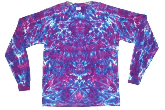 Adult TIE DYE Purple Blotter Hoodie Sweatshirt hippie Grateful Dead Small-3X art