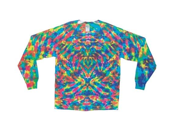 Adult TIE DYE Olive Blotter Hoodie Sweatshirt hippie small medium large XL 2X 3X