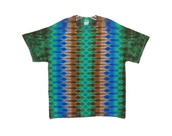Tie Dye T-shirt Green DNA Adult T-Shirt small medium large XL 2X 3X 4X 5X 6X Grateful Dead Psychedelic short sleeve Tye Dye hippie art