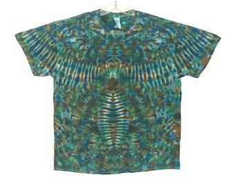 Psychedelic Tie Dye Shirt Mossy Phoenix Blotter Grateful Dead Tye Dye short sleeve Adult T-Shirt Small Medium Large XL 2X 3X 4X 5X 6X