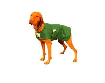Dog Raincoat, custom dog coat, dog coat lined with flannel, waterproof dog coat, dog jacket, adjustable dog coat