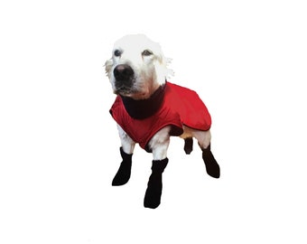 Dog Boots, Fleece Dog Boots, Custom Dog Boots, Paw Protection