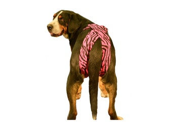 SALE!!! XL Readymade Female dog diapers, reusable dog diapers, athletic dog britches, dog britches, bitch britches,