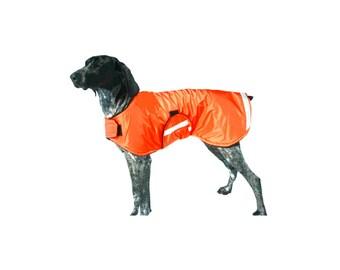 Dog raincoat, reflective dog raincoat, custom dog raincoat, reflective dog coat, dog coat made with reflective strips for safety