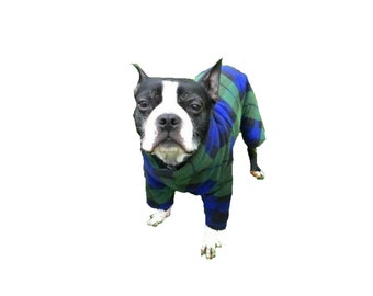 Fleece Dog Pajamas, custom dog pajamas, custom dog clothes, fleece pjs for dogs, cute dog pajamas