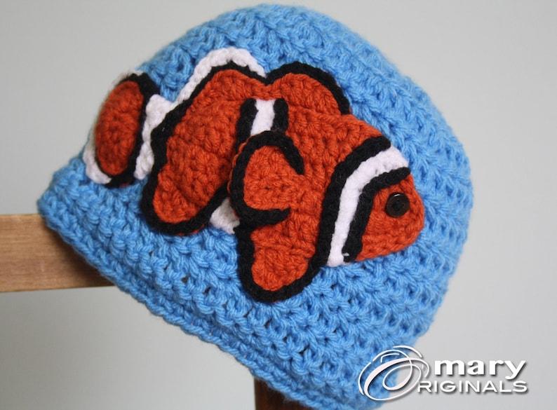 e55e5acd272 Clown Fish Hat Crochet Beanie Children s Clothing