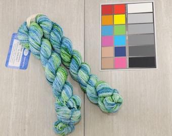 Stormy & Spring Double Major Targhee Sport Sock Yarn