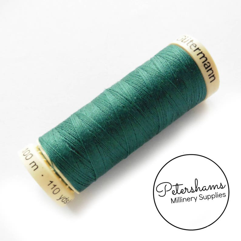 Teal #223 110 yards Gutermann Sew-All Polyester Thread Spool 100m