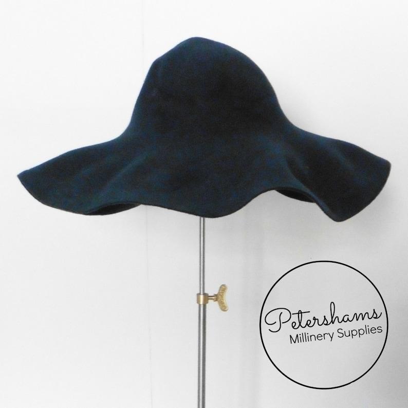 a18738bdd34 100% Wool Felt Capeline Hat Body for Millinery   Hat Making
