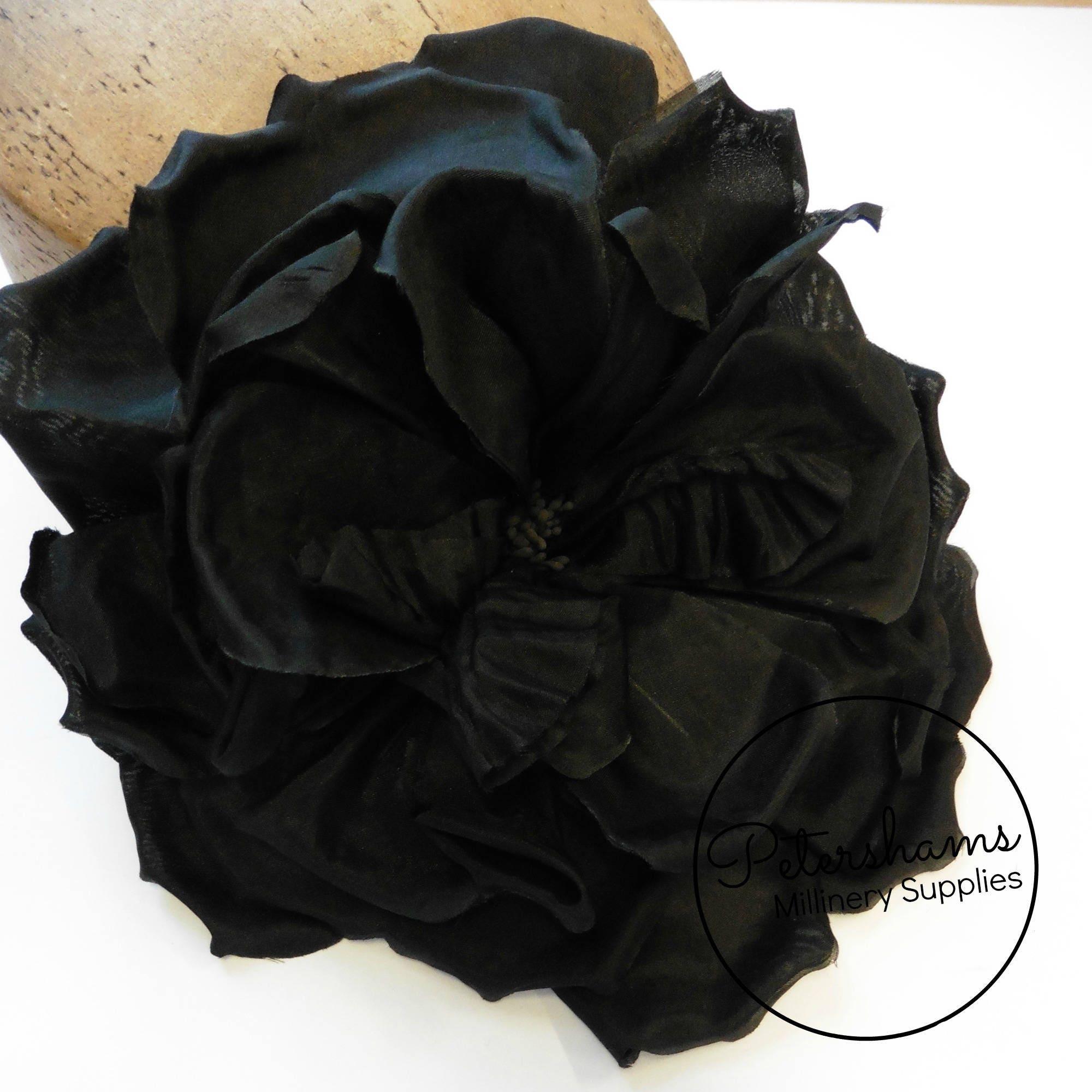Silk Lucinda Extra Large 20cm Rose Millinery Etsy