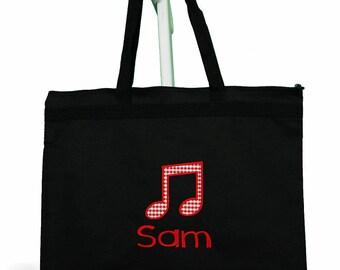d0833d47e Piano Lesson Bag, Piano Book Bag, Personalized Piano Bag, Personalized Music  Bag, Recital Gift, Piano Teacher Gift, Custom