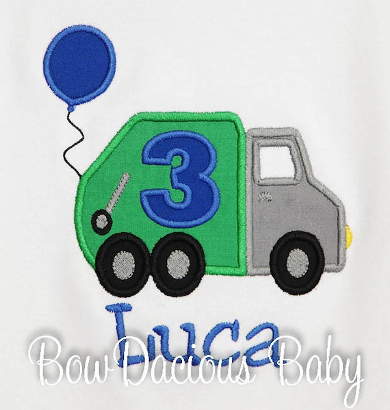 Garbage Truck ,Trash, Garbage Truck Tshirt or Bodysuit