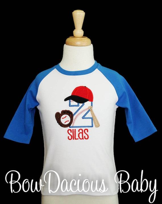 Baseball Birthday Shirt Boys T