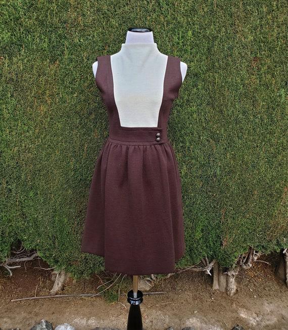 1960's Dark Brown Jonathan Logan Dress