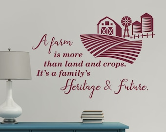Design with Vinyl RAD 751 2 Farm Sweet Farm Country Life Quote Wall Decal 16 x 24 Black