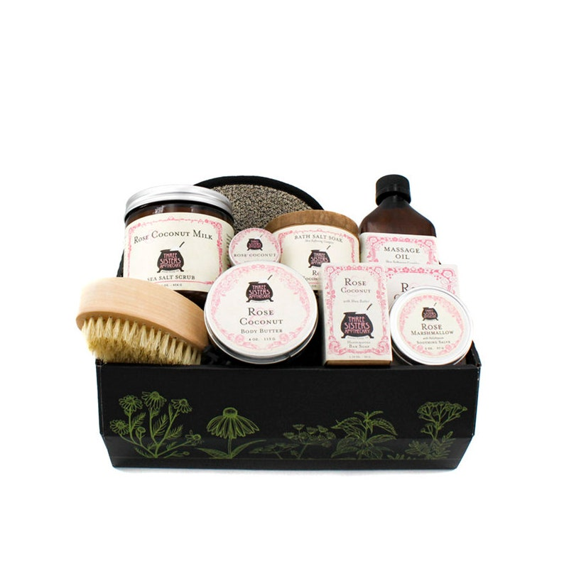 Rose & Coconut Spa Gift Collection image 0