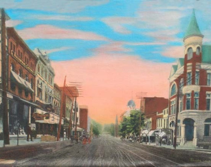 Kentucky, Winchester,S Main Street, KY 1903, Print on Fine Art Paper or Canvas