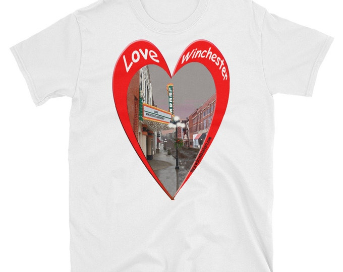 T SHIRT Love Winchester Kentucky Short-Sleeve Unisex T-Shirt