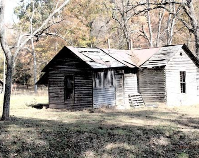 Kentucky, Old House on Bluebank Morehead,  Giclee Print on Fine Art Paper or Canvas