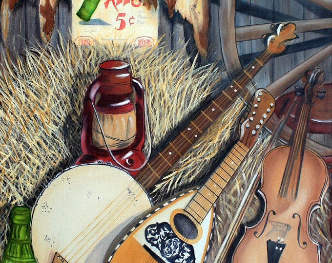 Kentucky, Winchester Melody Giclee Print on Fine Art Paper or Canvas