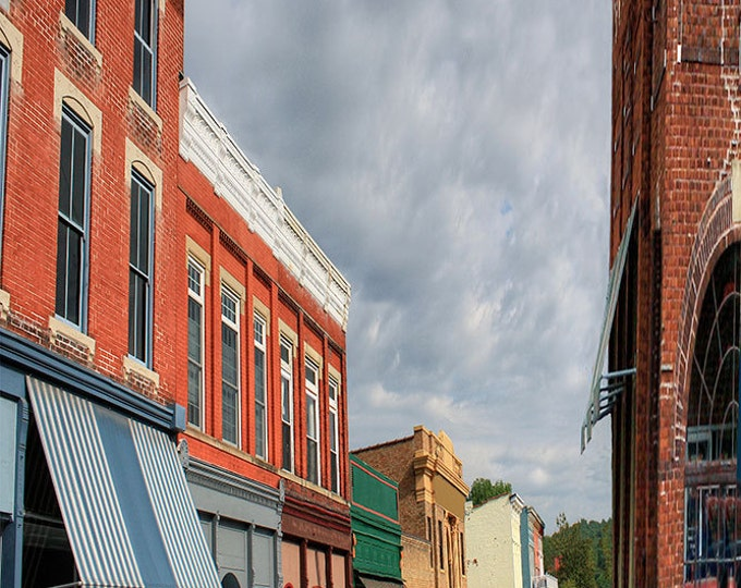 Augusta,Kentucky S Main St. Giclee Print, Fine Art Paper Canvas or Wood by Brenda Salyers by Brenda Salyers