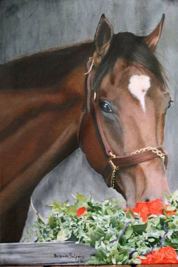 Kentucky, Barbaro, Kentucky Derby Winner,  Churchhill Downs Giclee Print on Fine Art Paper or Canvas. Custom Orders Welcome